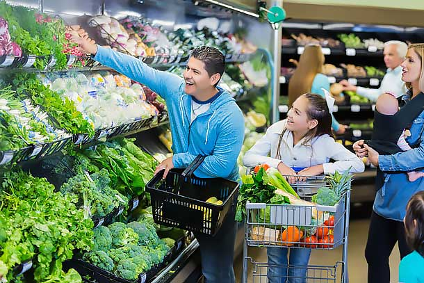 Compra en el supermercado