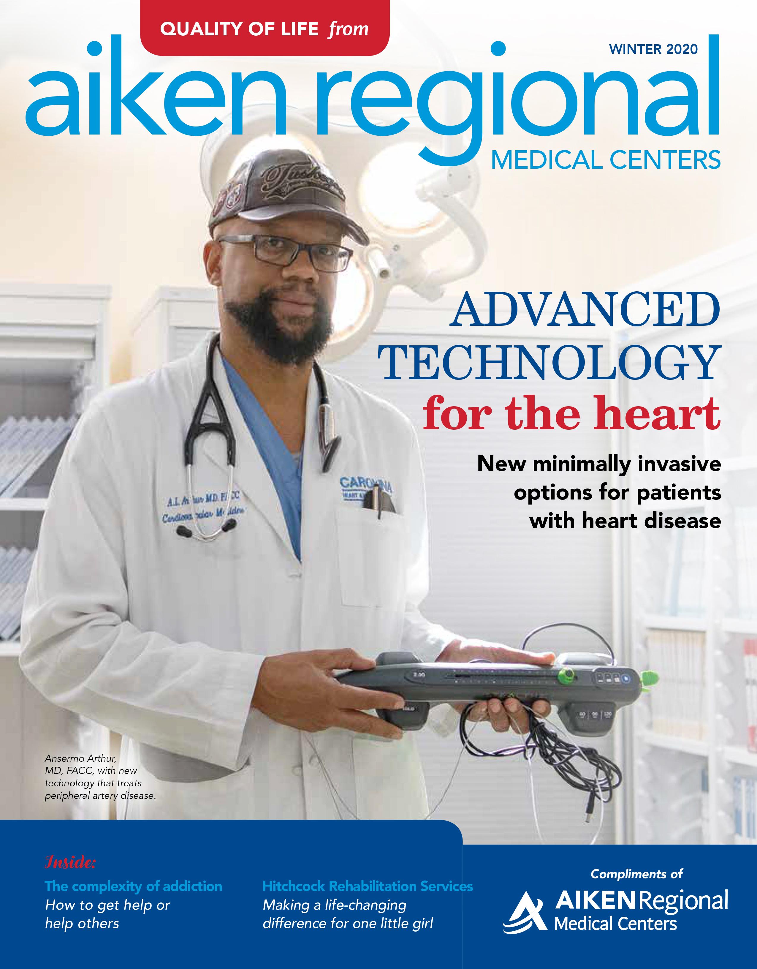 Aiken Regional Quality of Life Magazine - Winter 2020