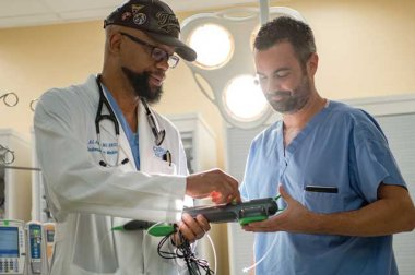 Ansermo Arthur, MD, FACC, has worked with Clinical Nurse Manager James Smith, RN, BSN, MHA