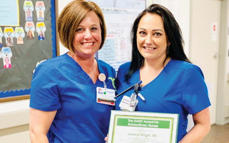 Honoring Extraordinary Nurses with The DAISY Award