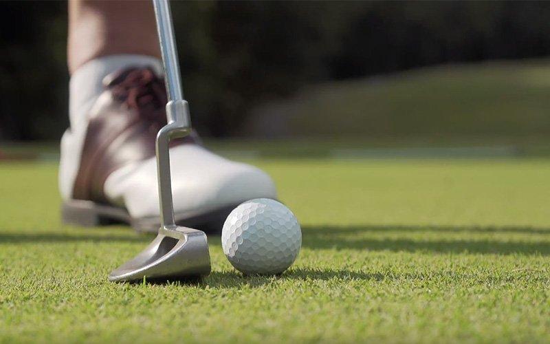 John Andrews, an avid golfer