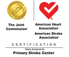 Joint Commission-Certified Primary Stroke Center